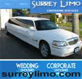 White Rock Airport Limousine Surrey BC